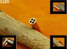 ALISTAR UK 6.34mm Thick 1x Mosaic Pin Handle Making Scales Bush Craft TOP! (1185