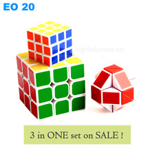 EO 20 - 3in1 Magic cube Educational Toy Stress Relievers Puzzle Cube*READYSTOCK*