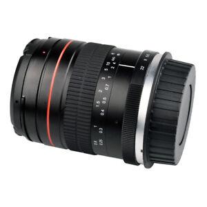 For Canon Full Frame Camera Prime Fixed Lens Portrait 35mm F2-F22 Aperture