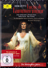 DVD DONIZETTI: LUCIA DI LAMMERMOOR Joan Sutherland Alfredo Kraus Elvira BONYNGE