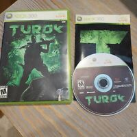 Turok - Microsoft Xbox 360 2008 Touchstone - CIB Complete Shooter Video Game