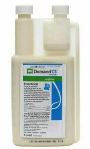 Demand CS 1 Quart Insecticide Bedbug Roach Pest Insect Control 32 oz
