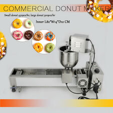Commercial Automatic Donut Making Maker Machine,Wide Oil Tank,3 Sets Free Mold
