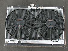 MISHIMOTO RACING RADIATOR+2 FANS 01-07 Lancer Evo 7/8/9