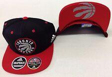 9552f100ecf NBA Toronto Raptors Adidas Logo Under Brim Snap Back Cap Hat Style  VX17Z  NEW