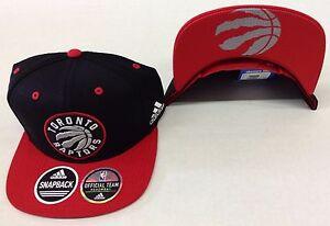 NBA Toronto Raptors Adidas Logo Under Brim Snap Back Cap Hat Style #VX17Z NEW