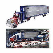 "Hasbro Transformers Trailer Converts to Mechtech Optimus Prime Robot 14.6""Figure"