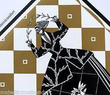 BEAUTIFUL DAGOBERT PECHE WIENER WERKSTÄTTE 2003 NYC GALLERY POSTER