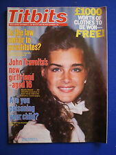 Titbits Magazine - Brooke Shields, June Wilkinson   5th Sept. 1981