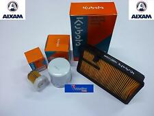 SET AIR FILTER + OIL AND GAS AIXAM 400 A721 CITY CROSSLINE IMPUL GTO COUPE MINIA