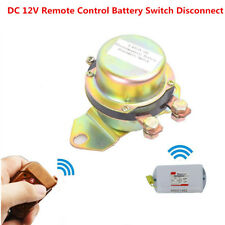 12V Car Auto Battery Switch Electromagnetic Disconnect Power Master Kill System
