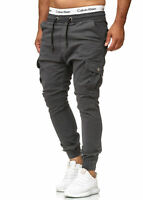 Chinohose Jeans Hose Sweatpants Slim Fit Jogg Jogger Cargo Stretch Herren