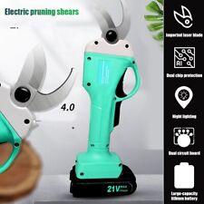 21V Cordless Electric Branch Scissors Pruning Shear Pruner Ratchet Cutter