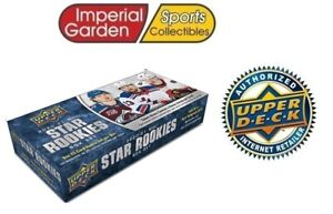 2020-21 20-21 UPPER DECK STAR ROOKIES BOX COLLECTION SET SEALED RC