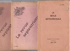 Revue Septentrionale Flandre Artois Picardie Rosati Arras poésie vin rose 1907