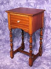 Colby's Antique Side End Lamp Table Pedestal Sofa Stand Coffee Widdicomb Server