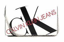 Calvin Klein CKJ Phone Crossbody Umhängetasche Tasche Bright White Weiß Rot