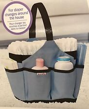 Blue Munchkin Portable Diaper Caddy Changing Kit Baby Storage Organizer New