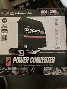 Schumacher Pc1500 1500 Watts (3000 Peak Watts) Power Converter