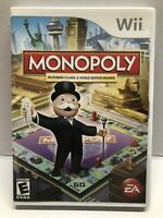 Monopoly (Nintendo Wii, 2008) 100% Complete CIB Nintendo (Wii) TESTED