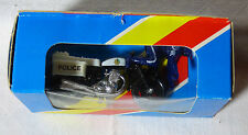 Matchbox - Superfast -  MB 33 Police Motorcycle dunkelblau