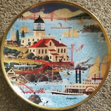 Franklin Mint - Royal Doulton - Lighthouse by the Bay - Plate No. Ha1777