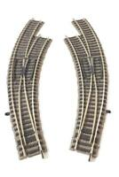 FLEISCHMANN 6174 W,  6175 W HO PROFI TRACK - LEFT AND RIGHT HAND CURVED TURNOUTS