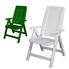 Poltrona resina 100% regolabile 5 posizioni relax arredo esterno giardino APOLLO