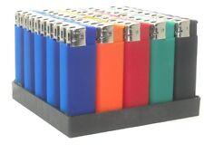 10 Pack WINLITE BOLD Rubber Finish Electric Refillable Cigarette Lighters