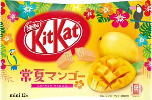 Japanese Kit-Kat Summer Mango KitKat Chocolates 12 bars
