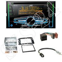 JVC KW-R920BT CD/USB Radio + Smart ForTwo/Four (C451/W454) Blende + ISO Set