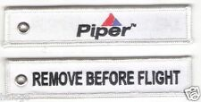 "PIPER AIRCRAFT ""REMOVE BEFORE FLIGHT"" KEY CHAIN - KEY112"