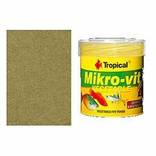 TROPICAL MIKRO-VIT VEGETABLE 50ml Vegetable food for fry