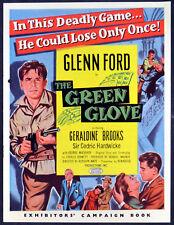 GREEN GLOVE 1952 Glenn Ford, Geraldine Brooks, Cedric Hardwicke UK CAMPAIGN BOOK