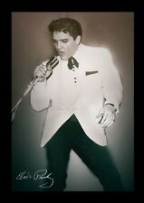 ELVIS PRESLEY CONCERT 13x19 FRAMED GELCOAT POSTER MUSIC LEGEND ICON ROCK NEW FUN