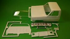1977 Chevy GMC 4x4 Pickup Truck 1/24 cab body hood glass chrome grill grille lot