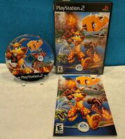 Ty the Tasmanian Tiger (Sony PlayStation 2, 2002) with Manual - Tested & Working