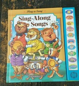 PLAY-A-SONG SING-ALONG SONGS by Phil Bliss HC Children's Book 1994 First Print