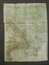 Landkarte von Osteuropa, Bukarest, Odessa, Lemberg, 1.Weltkrieg GEA um 1917