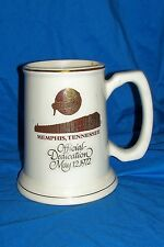 1972 Schlitz Dedication Mug Glass Beer Stein Old Vintage Ale Brewery Advertising