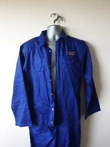 "Hi-vis Welding PPE Flame Retardant Overalls Boiler Suit S 36R 36"" chest #574"