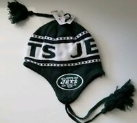 NEW YORK JETS NFL KNIT CAP TOBAGGAN ONE SIZE FITS ALL
