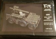 1/16 120mm Verlinden M151 jeep Mutt TOW resin conversion OOP