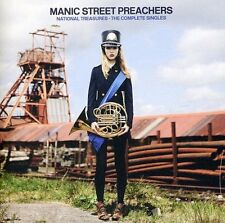 MANIC STREET PREACHERS NATIONAL TREASURES THE COMPLETE SINGLES 2 CD (Hits)