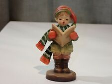 """Anri Italy Hand Carved Joy To The World boy Signing Figure 4"""" Sarah Kay 260/1000"""