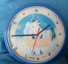 Vintage Lorus Donald Duck Wall Clock