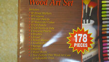 Professional Wood Art Set 178 pieces