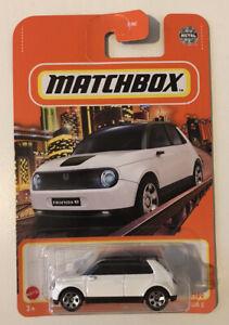 2021 MATCHBOX #1 - 2020 Honda E - New Casting (White - Mix 5 Long Card) New