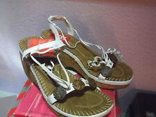 Xti Femme Chaussures Espagnol Talons Compensés Korksohle Sommersandalette Taille