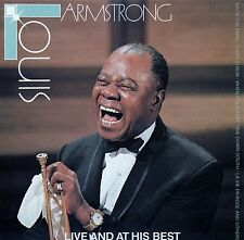LOUIS ARMSTRONG : LIVE AND AT HIS BEST / CD